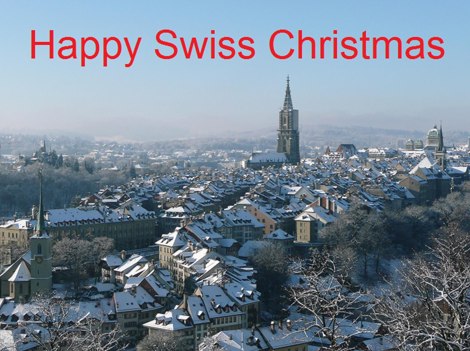 Happy Swiss Christmas